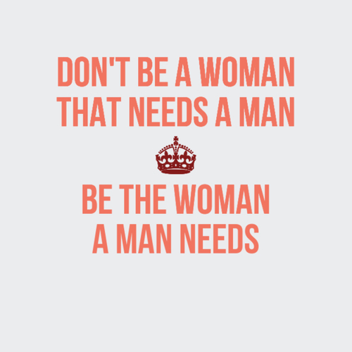 5 things a man needs from a woman